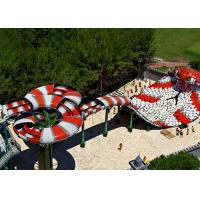 Buy cheap Giant Aqua Play Snake Style Slide Amusement Park Equipment For Sale from wholesalers