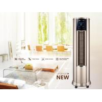 Quality Low Noise Warm Air Conditioner , Hot Air Vertical Fan Heater With LCD Touch Switch for sale