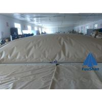 Quality Fuushan Commercial Potable Folding PVC Farming Water Tank Level Sensor for sale