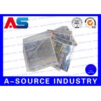Buy cheap Silver Scratch Off Label Stickers With Security Code , 3D Hologram Printing from wholesalers