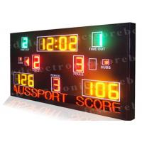 Quality Multi Function LED Basketball Scoreboard High Visibility 1300mm X 2000mm X 100mm wholesale