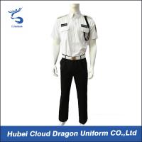 Buy cheap Men Security Guard Uniform Full Set For Hotel / Airport / Station Protection , 2 Pockets from Wholesalers