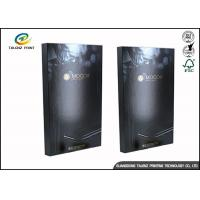 Buy cheap Black Foldable Paper Electronic Product Packaging Boxes Customized from Wholesalers