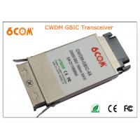 China CWDM GBIC Transceiver module 1.25G 80KM , 1270nm to 1610nm for Network on sale