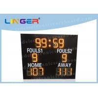 Quality Different Sports LED Electronic Scoreboard Outdoor Front Glass Board UV Protection wholesale