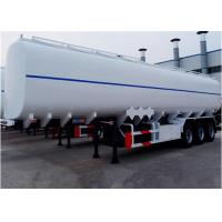 Buy cheap Popular in Africa and Mid east 3 or 4 axles Fuwa or BPW 45000 liters fuel tanker trailer/crude oil tank semi trailer from wholesalers