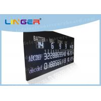 Quality Multi Purpose LED Baseball Scoreboard Remote Control With Time Function wholesale