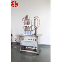 Buy cheap Semi Automatic Aerosol Spray Paint Filling Machine Pneumatic Power from Wholesalers