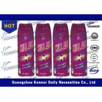 Buy cheap Eco - Friendly Insecticide Home Insect Killer Spray / Mosquito Killer Spray from Wholesalers
