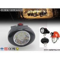 Buy cheap 1W 4000 Lux CREE Cordless Mining Lights 2.8Ah Rechargeable Li - Ion Battery from Wholesalers