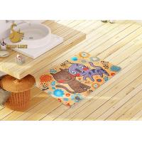 Buy cheap 3d Printing Kids Floor Rugs With Non-slip Backing / Childrens Bedroom Mats from Wholesalers