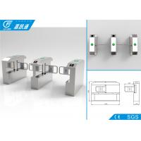 China Building Entrance Security Swing Gate Turnstile Automation Single Direction on sale