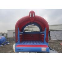 China Customize Inflatable Spiderman Jumping Castle / Spiderman Inflatable Bouncer For Kids on sale