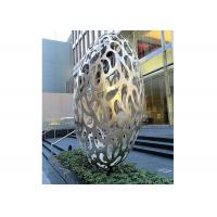 Buy cheap Hollow Eggs Stainless Steel Sculpture Modern Installation Art Sculpture from wholesalers