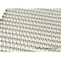 Buy cheap Good Reputation Explosion Models Stainless Steel Spiral Balance Woven Wire Belt For Food from wholesalers