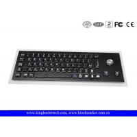 Quality Compact USB Industrial Computer Keyboard with Optical Trackball and Korean Layout wholesale