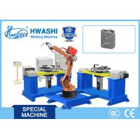 China Automobile / Car Oil Tank Automatic MIG Welding Robot , Welding Industrial Robot on sale