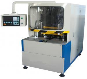 Quality 380V 50Hz Vinyl UPVC Window Machine , CNC Corner Cleaning Machine 100mm Width wholesale