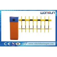 Buy cheap Two Fence Car Park Barrier Systems With Loop Detector For Entrance And Exit from Wholesalers