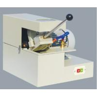 Quality Manual Abrasive Cutter Cutting diameter Ø30mm Metallographic Equipment Abrasive Cutting Machine With Cooling System for sale