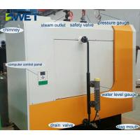 Buy cheap Environmentally friendly 600kg/h biomass pellet steam boiler from wholesalers
