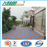 Buy cheap Eco - Friendly Protective Rubber Matting Anti Slip Flooring Gym Sport Rubber Tiles from Wholesalers
