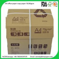 Buy cheap Sample free Original Paper Copy A4 A3 Paper 80 Gsm 75 Gsm 70 Gsm Copy Paper from Wholesalers