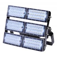 Buy cheap 300 Watts Adjustable LED Flood Lights Lumileds With Aluminum Fin Material Waterproof IP65 from wholesalers