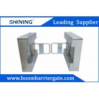 Quality 1.5mm Steel High Speed Gate / Swing Barrier Gate For Biometric Access Control wholesale