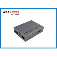 China Smart Gigabit Ethernet Fiber Media Converter High Durability With Low Power Consumption on sale