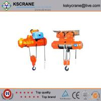 Buy cheap Attractive and reasonable price Double Speed Electric Monorail Hoist from Wholesalers