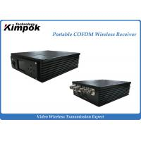 Buy cheap Miniature COFDM Receiver 300-800MHz Portbale Wireless AV Receiver from wholesalers