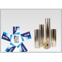 Buy cheap Vacuum Metallic Foil Paper Single Sided Coating , Easy To Wash Away From Bottles from wholesalers