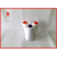 Quality Spun Polyester Sewing Thread / High Tenacity Polyester Yarn On Plastic Or Paper Cone wholesale