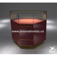 ruby jewelry display counter