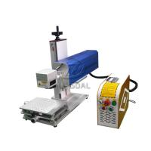Quality Mini Glasses Lens Marking Machine Co2 RF Laser Marking Machine 30W wholesale