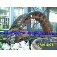 Buy cheap High Precision Mining Straight Cut Annular Gear Ring ANSI API DIN Standards from Wholesalers