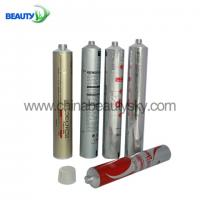 Cosmetic Packaging Tubes Collapsible Aluminum Tubes for Hair Color Cream tubes 30~120ml  Silver color coating