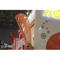 Quality Interior / Outdoor Teardrop Banners 3kg Cross Feet With 360 Degree Turning Radius wholesale