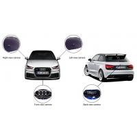 Quality Wide Angle 180 Degree Car Rearview Camera System For Audi With DVR wholesale