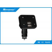 Wireless Car Charger Bluetooth Fm Transmitter Remote Control Black Color