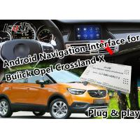 Buy cheap Plug&Play Android Auto Interface for 2014-2018 Opel  Insignia Mokka Crossland  with  GPS Navigation Google Map WIFI from wholesalers
