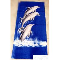Buy cheap OEM Personalized Printed Beach Towel , 70*140cm Eco-Friendly Dryfast from Wholesalers
