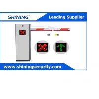 2 Remoter Traffic Control Gates / Car Park Barriers With Led Indicator Light