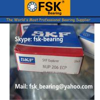 Buy cheap Low Noise Single Row Cylindrical Roller Bearings SKF Bearings NUP206ECP from Wholesalers