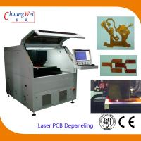 Buy cheap Flexible Printed Circuit / Pcb Board Cutting Machine Laser Depaneling System from wholesalers