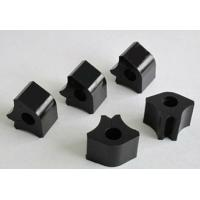 Buy cheap Aging resistant Black Custom Rubber Extrusions / Rubber Weather Strip Seal from Wholesalers