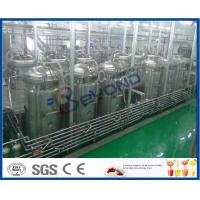 Buy cheap Soft Beverage Industry Cool Drinks Making Machine 5000 - 6000BPH ISO9001 / CE / SGS from wholesalers