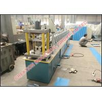 Buy cheap Corrugated C Shape Stud and U Shaped Track Panel Roll Forming Machinery with 3 Tons Decoiler from wholesalers