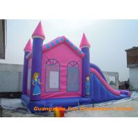 Buy cheap Safety Waterproof Inflatable Jumpers , Inflatable Water Slide Bounce House Rental from wholesalers